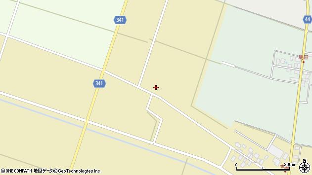 山形県東田川郡庄内町吉岡西北裏19周辺の地図