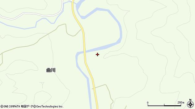 山形県最上郡鮭川村曲川902周辺の地図
