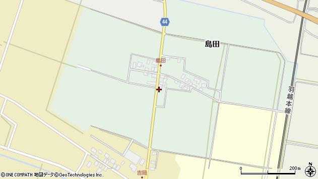 山形県東田川郡庄内町島田孫六12周辺の地図