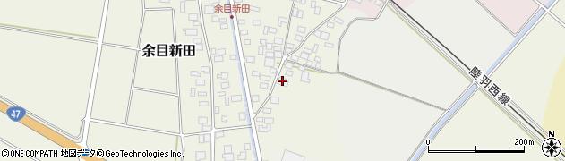 山形県東田川郡庄内町余目新田東町33周辺の地図