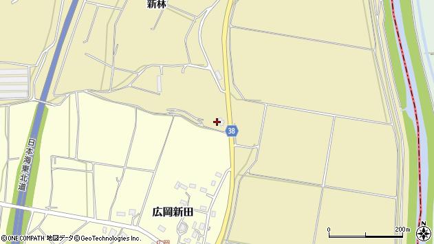 山形県酒田市浜中船付場58周辺の地図