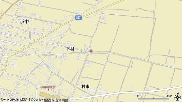 山形県酒田市浜中村東1510周辺の地図