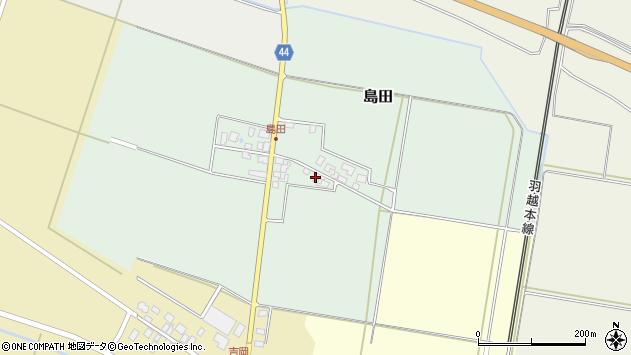 山形県東田川郡庄内町島田孫六21周辺の地図