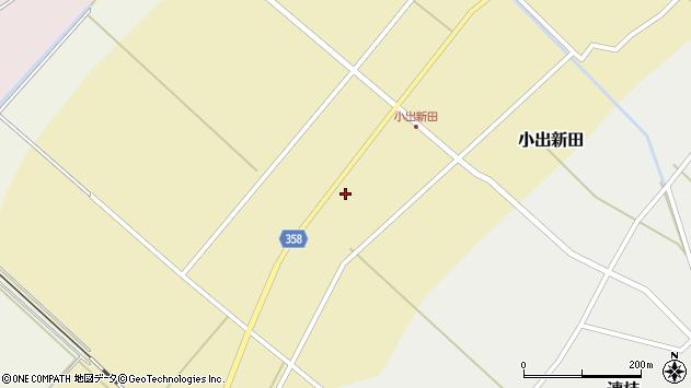 山形県東田川郡庄内町小出新田苧畑割10周辺の地図
