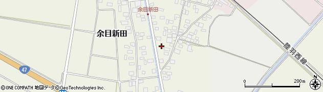 山形県東田川郡庄内町余目新田東町37周辺の地図