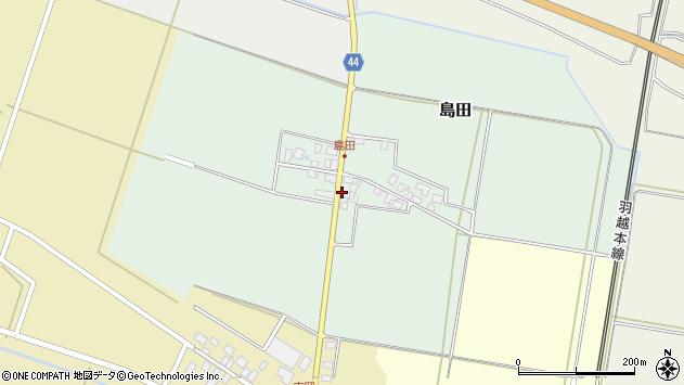山形県東田川郡庄内町島田孫六25周辺の地図