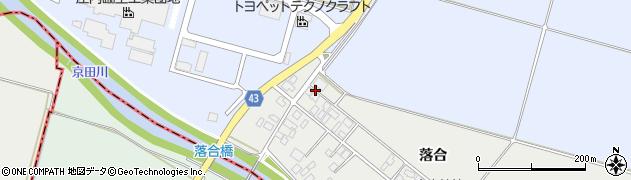 山形県東田川郡庄内町落合落合64周辺の地図