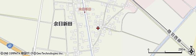 山形県東田川郡庄内町余目新田東町39周辺の地図