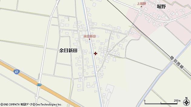山形県東田川郡庄内町余目新田東町41周辺の地図