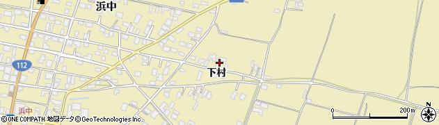 山形県酒田市浜中下村574周辺の地図