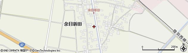 山形県東田川郡庄内町余目新田西町12周辺の地図