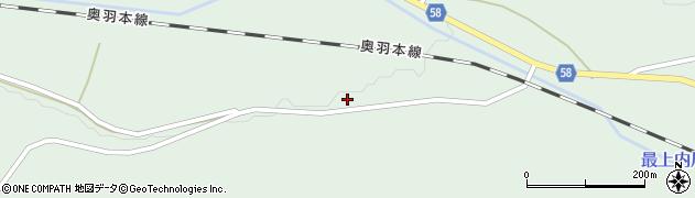 山形県最上郡鮭川村京塚281周辺の地図