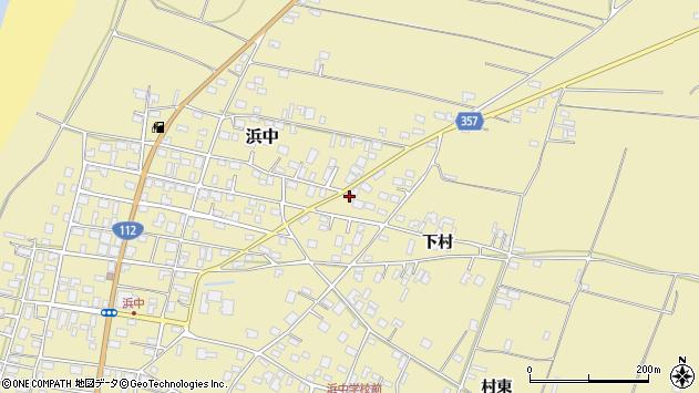 山形県酒田市浜中下村561周辺の地図