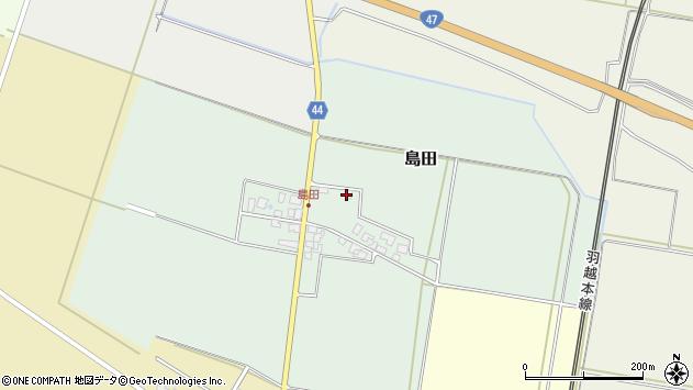 山形県東田川郡庄内町島田谷地古田14周辺の地図