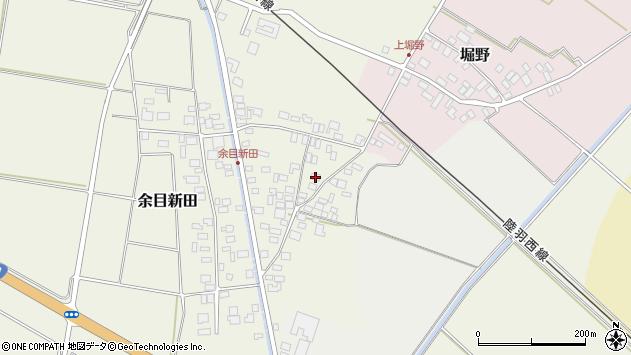 山形県東田川郡庄内町余目新田東町55周辺の地図