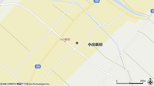 山形県東田川郡庄内町小出新田苧畑割111周辺の地図