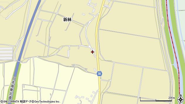 山形県酒田市浜中船付場59周辺の地図