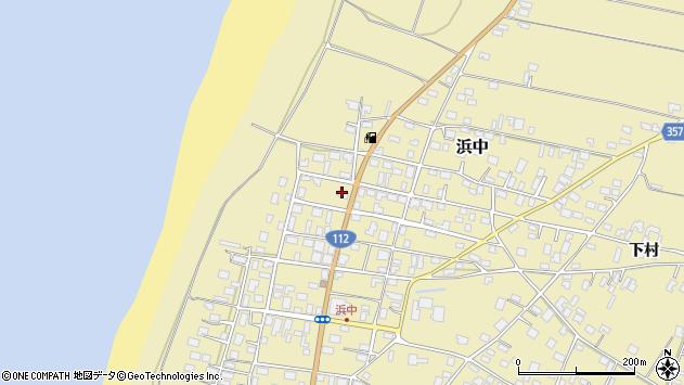 山形県酒田市浜中下村101周辺の地図
