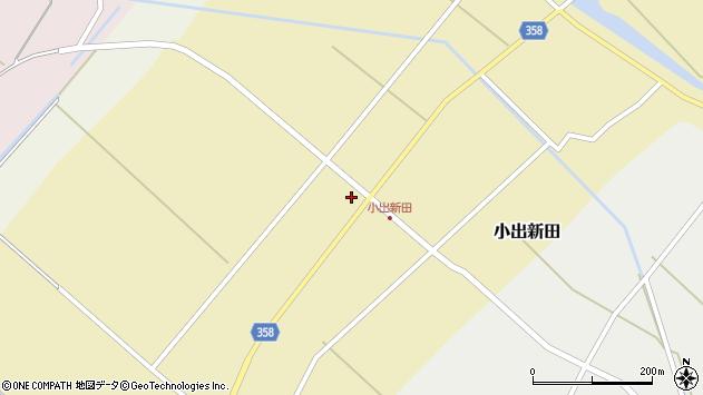 山形県東田川郡庄内町小出新田苧畑割37周辺の地図