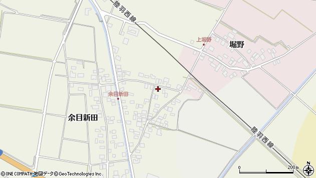 山形県東田川郡庄内町余目新田向町6周辺の地図