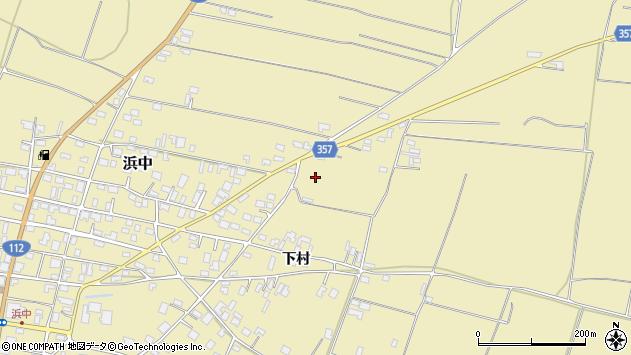 山形県酒田市浜中村北分散11周辺の地図