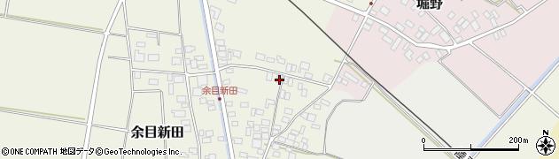 山形県東田川郡庄内町余目新田向町9周辺の地図