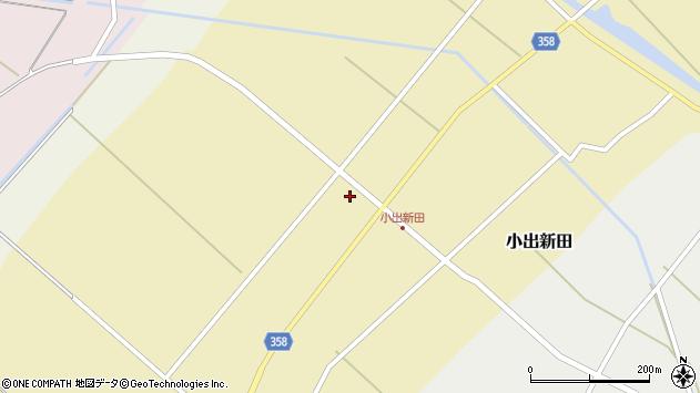 山形県東田川郡庄内町小出新田苧畑割38周辺の地図