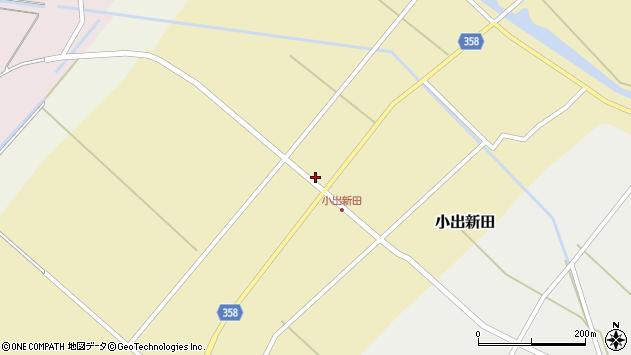 山形県東田川郡庄内町小出新田苧畑割36周辺の地図