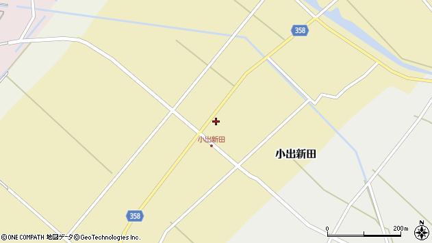 山形県東田川郡庄内町小出新田苧畑割16周辺の地図