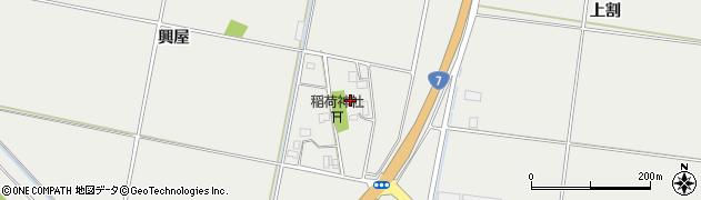 山形県酒田市広野興屋120周辺の地図