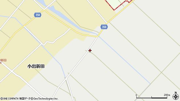 山形県東田川郡庄内町連枝古川端3周辺の地図