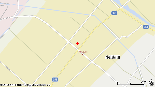 山形県東田川郡庄内町小出新田苧畑割34周辺の地図