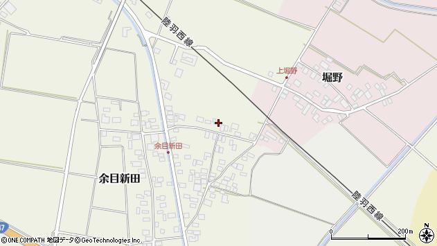 山形県東田川郡庄内町余目新田向町31周辺の地図