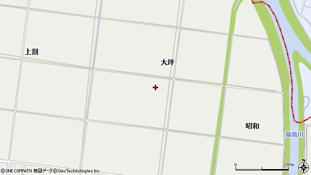 山形県酒田市広野大坪周辺の地図