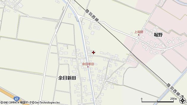 山形県東田川郡庄内町余目新田向町27周辺の地図