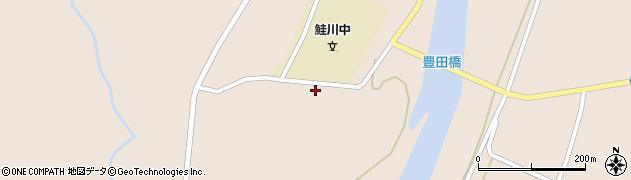 山形県最上郡鮭川村庭月3613周辺の地図