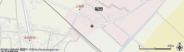 山形県東田川郡庄内町堀野上堀野8周辺の地図