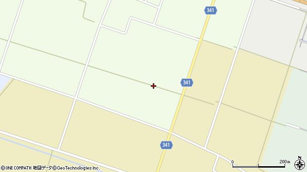 山形県東田川郡庄内町茗荷瀬蒲原周辺の地図