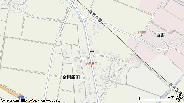 山形県東田川郡庄内町余目新田向町22周辺の地図