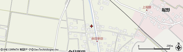 山形県東田川郡庄内町余目新田新田町1周辺の地図