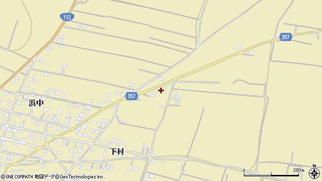 山形県酒田市浜中村北分散69周辺の地図