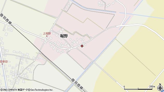 山形県東田川郡庄内町堀野上堀野27周辺の地図