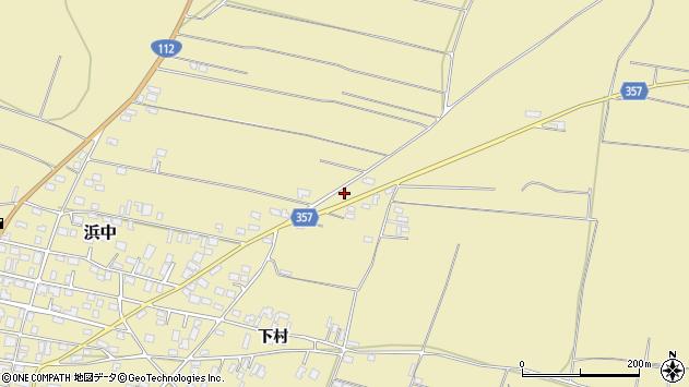 山形県酒田市浜中村北分散79周辺の地図