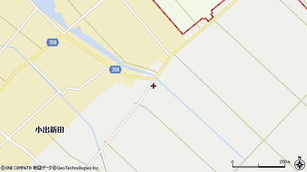 山形県東田川郡庄内町連枝古川端64周辺の地図