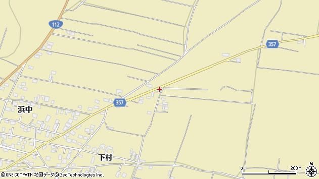 山形県酒田市浜中90周辺の地図