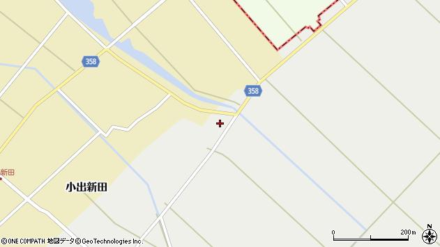山形県東田川郡庄内町連枝古川端周辺の地図
