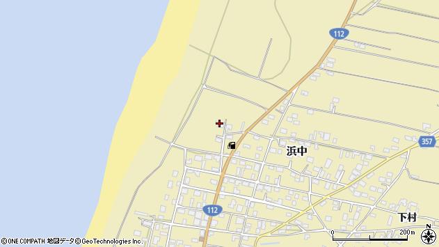 山形県酒田市浜中下村65周辺の地図