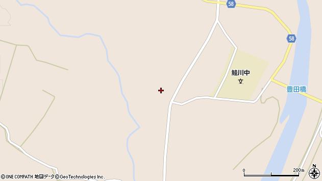山形県最上郡鮭川村庭月2555周辺の地図