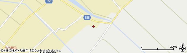 山形県東田川郡庄内町小出新田二タ縄140周辺の地図