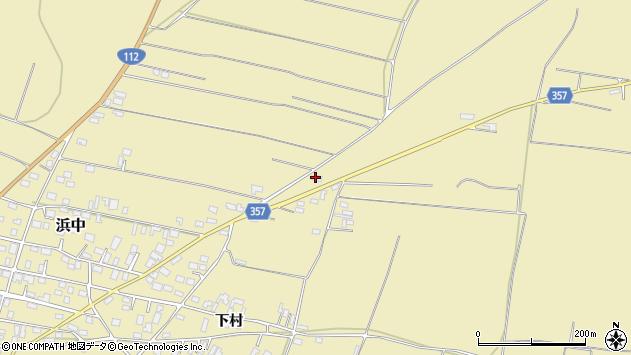 山形県酒田市浜中村北分散91周辺の地図